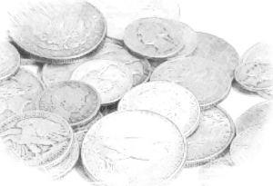 Coin sketch