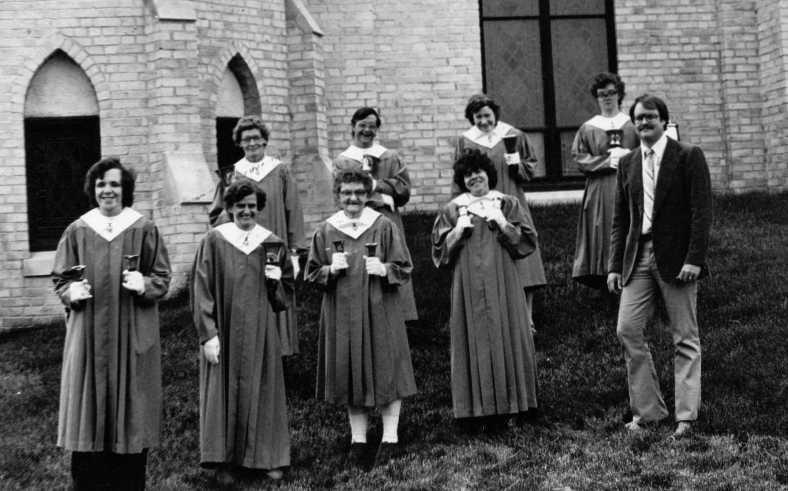 Bethesda Handbell Choir 1984